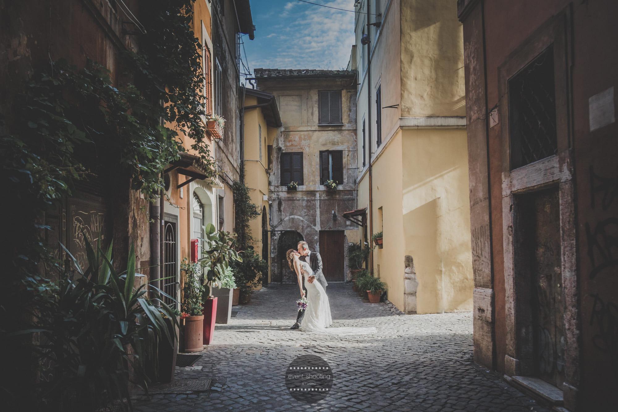 Trastevere Matrimonio Turco Event Shooting